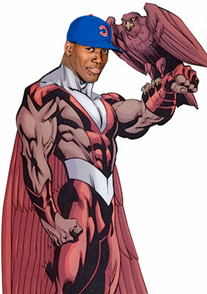 Jorge Soler as the Falcon